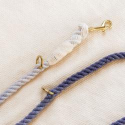 ombre przepinana smycz ze sznura