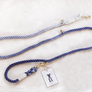 ombre długa smycz ze sznura