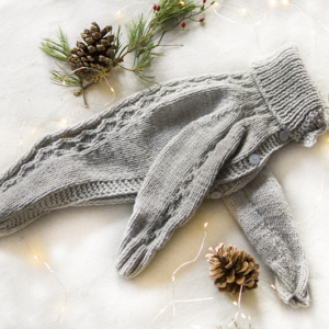 szary sweterek charcik włoski