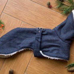 płaszcz z ociepleniem dla psa