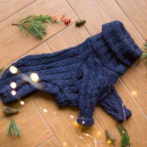 sweter wełniany dla whippeta