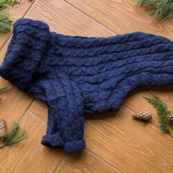 wełniany sweter dla psa