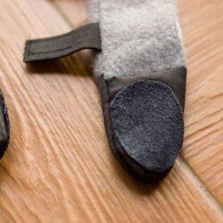antypoślizgowe buty dla psa